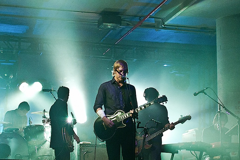 interpol perform at the creators project in NYC