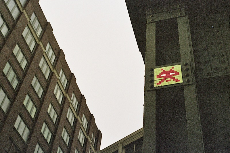 street art by invader