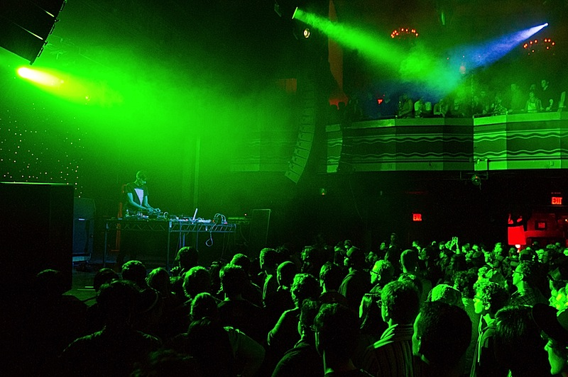 Jon Hopkins performs with Gold Panda and Four Tet at Webster Hall in NYC