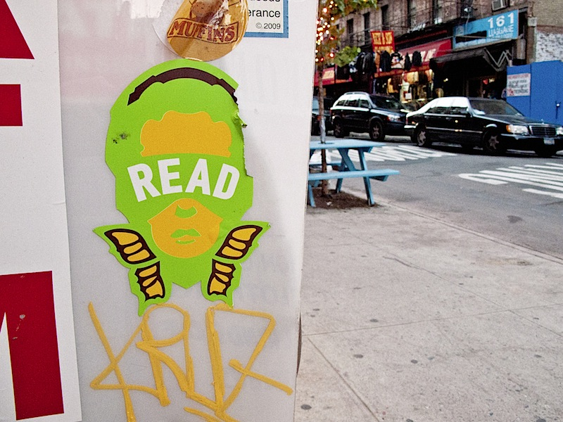 street art by reader in NYC