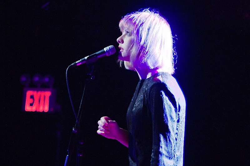anika performs live at Le Poisson Rouge (LPR) in NYC