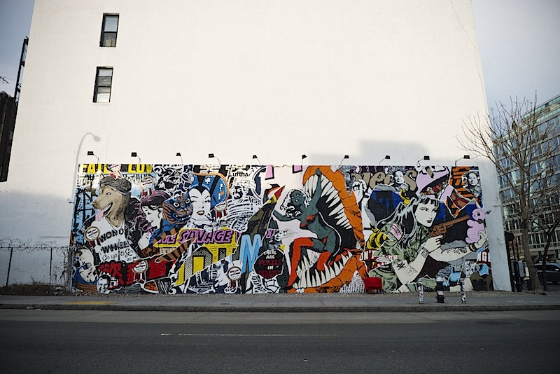 faile's amazing mural found on houston st in nyc