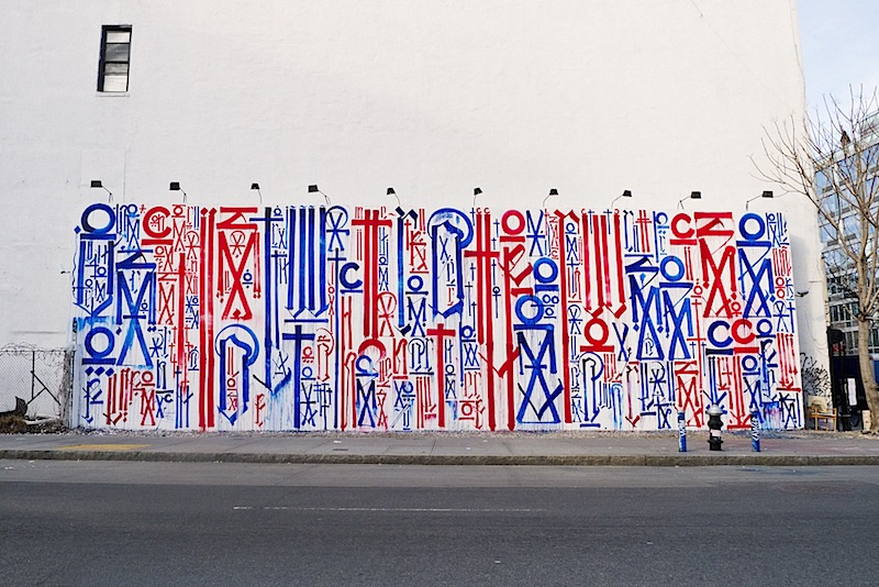 retna street art graffiti on houston st in nyc
