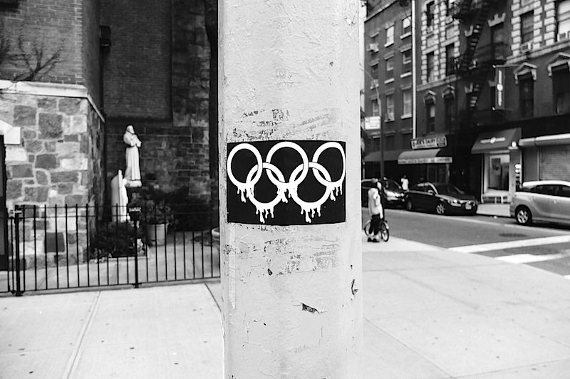 an olympic games sticker